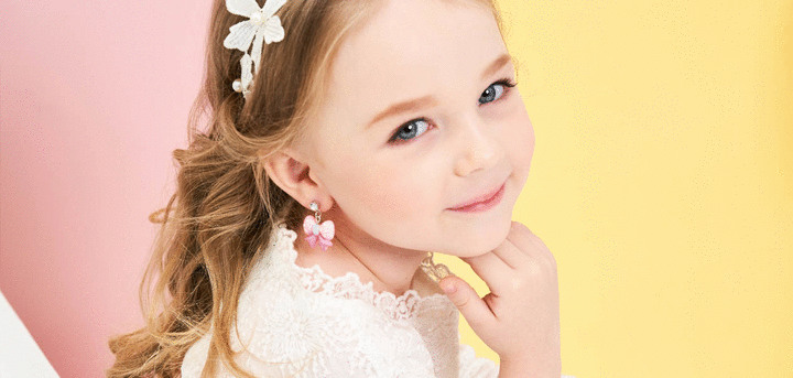 兒童耳環-黏貼式耳環 | Sticker Earrings