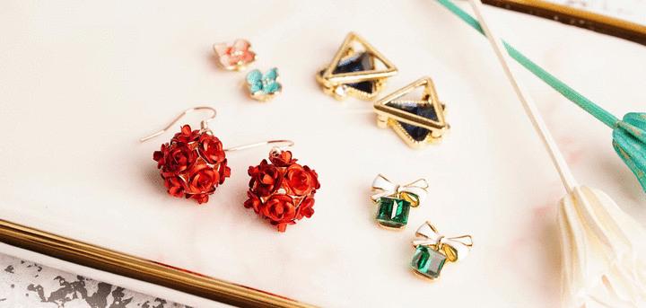耳環 針式耳環 | Pierced Earrings