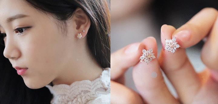 貼耳耳環 耳針式-耳環 | Pierced Earrings