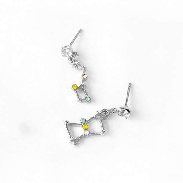 STK176SV-N 銀色-耳針款