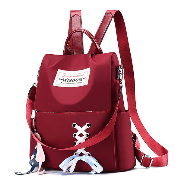 BPK142 甜美蝴蝶結綁帶後背包