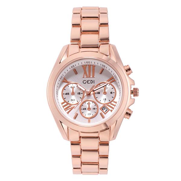 WAH014 時尚氣質防潑水鋼帶手錶