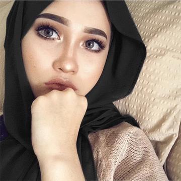 穆斯林雪紡簡約基本款長頭巾