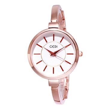 韓版簡約小圓錶面手鐲錶