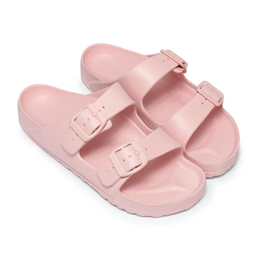 MIT台灣製-純色休閒防水拖鞋