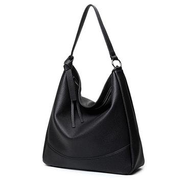 優雅簡約大容量側背手提包