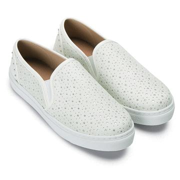 MIT台灣製-簍空星星率性質感懶人鞋