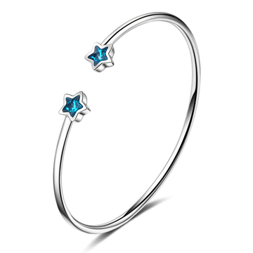 清新文藝蔚藍星星手環
