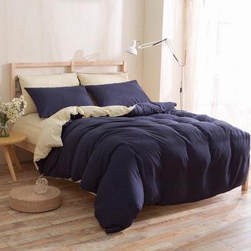 雙人床純色床包 - 四件套