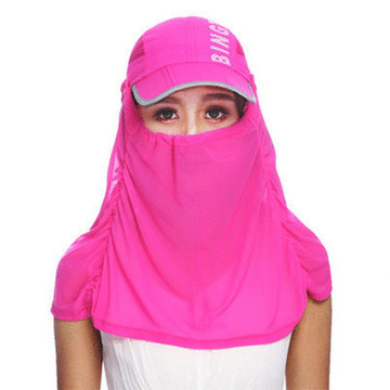 男女防紫外線速乾可折疊帽