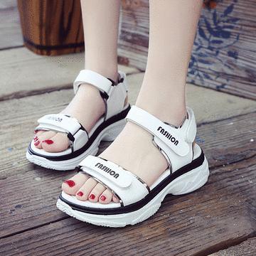 春夏厚底休閒涼鞋