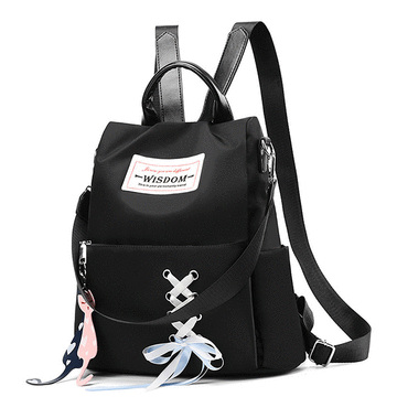 甜美蝴蝶結綁帶後背包