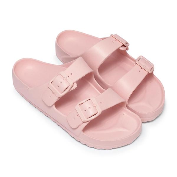 SHE030 MIT台灣製-純色休閒防水拖鞋