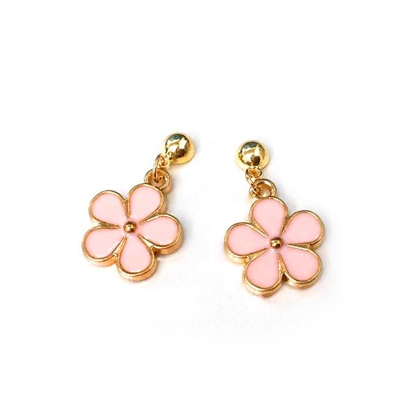 STK384PK 粉色花朵-黏貼款