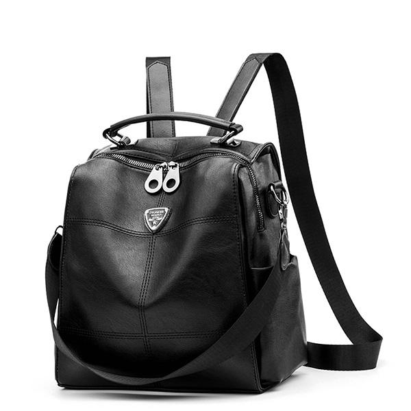 BPK141 韓版時尚極簡軟皮後背包