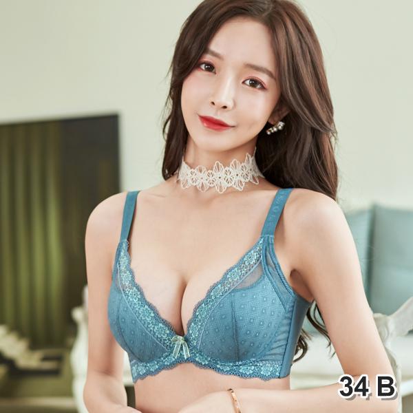 BRA033BL-34B 藍色/34B