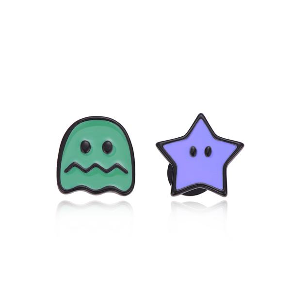 STK208GP 綠鬼紫星