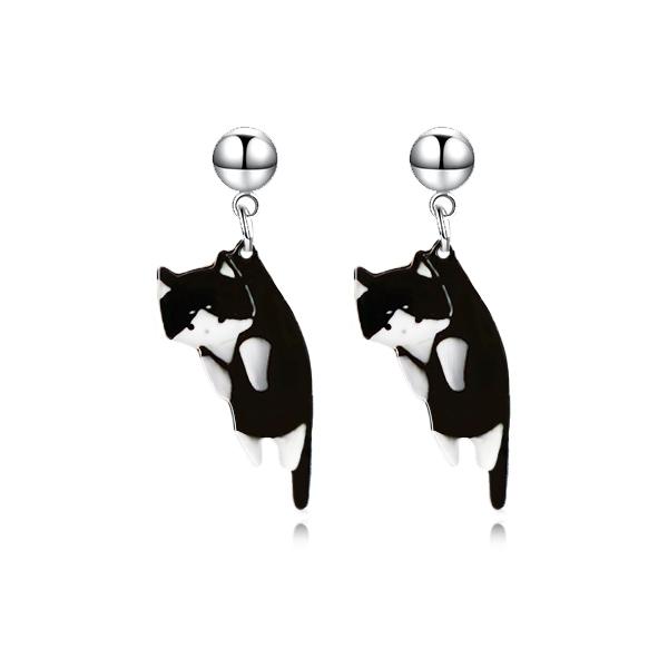 STK246BK 黑色小貓