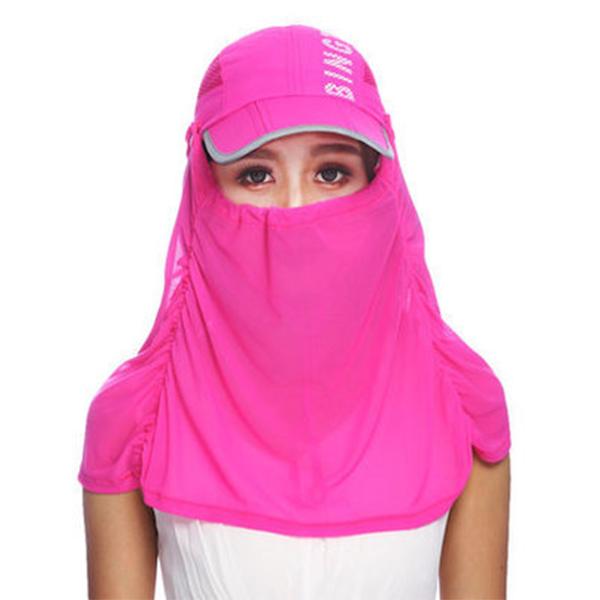 HT001 男女防紫外線速乾可折疊帽