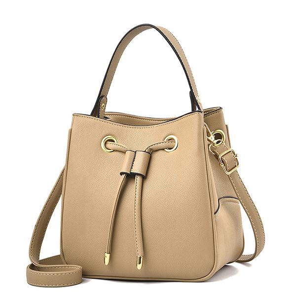 LDB706 定型甜美抽繩側背手提包