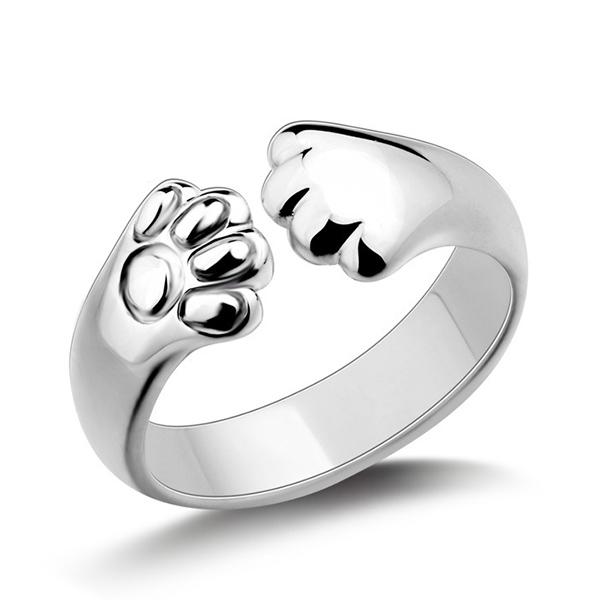 RNG001 日系創意貓爪指環