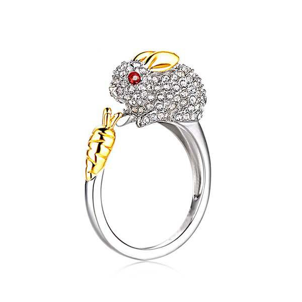 RNG011 十二生肖鑲鑽合金指環