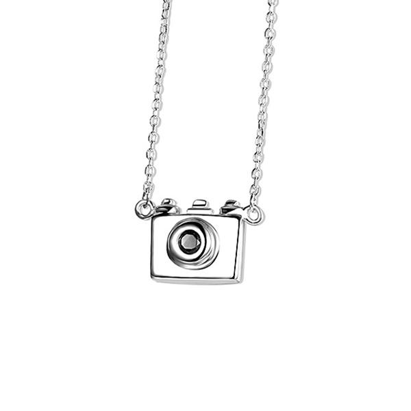 NKC068 個性時尚相機合金項鍊