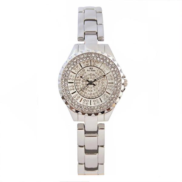 WAH015 奢華滿鑽防潑水不銹鋼帶手錶 ( 不附手鍊 )