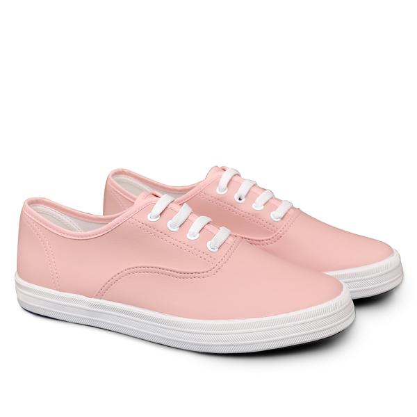 SHE047 MIT台灣製-日常素面彈性鞋帶休閒鞋