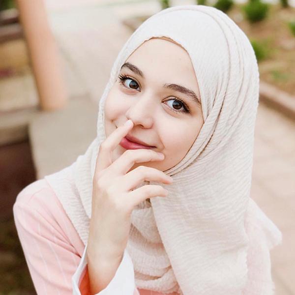 HJB041 穆斯林純色泡泡毛邊長頭巾