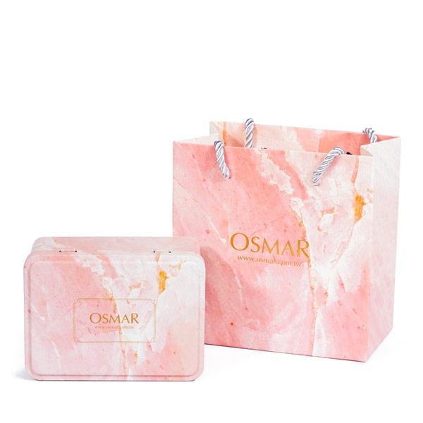 PKG001 【加購:不單獨出貨】OSMAR獨家禮物盒組(鐵盒+提袋)