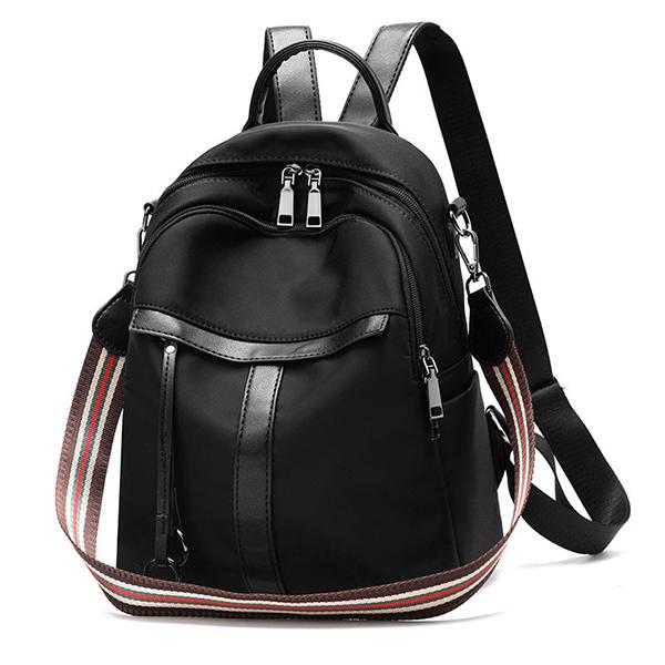 BPK125 純色典雅學院風雙肩後背包
